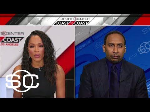 Stephen A. Smith previews Golden State Warriors vs. Boston Celtics | SportsCenter | ESPN