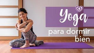 Yoga para dormir bien | Paloma & Caramelos