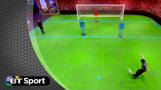 Owen Hargreaves scores incredible rabona goal | BT Sport