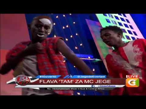 My Lover on the ten, Jegede performing live #10Over10