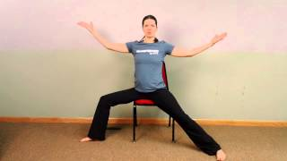 Chair Holy Yoga Flow