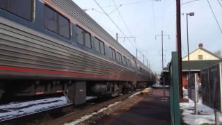 Amtrak Pennsylvanian train #42 with p42 #20 and k5la