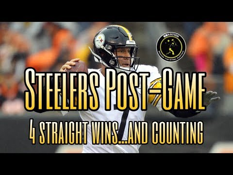 Steelers Post-Game: Pittsburgh goes into Baltimore and leaves with the 'W'