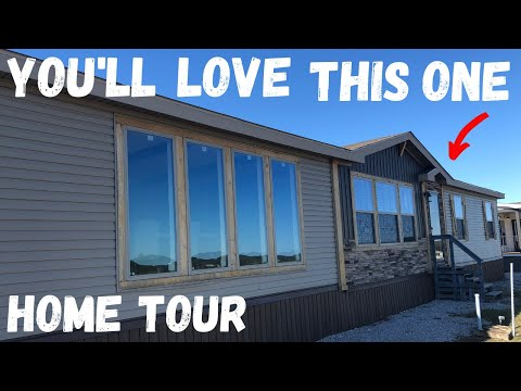 Must See Mobile Home! The Dagger By Platinum Homes, 3 Bedroom 2 Bath Double Wide | Home Tour