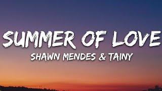 Shawn Mendes, Tainy - Summer Of Love (Lyrics)