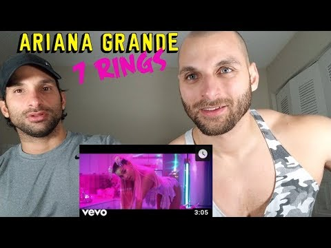 Ariana Grande - 7 rings REACTION
