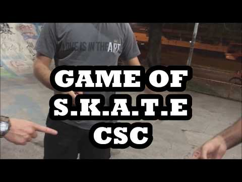 GAME OF SKATE CSC CONFORTO CREW