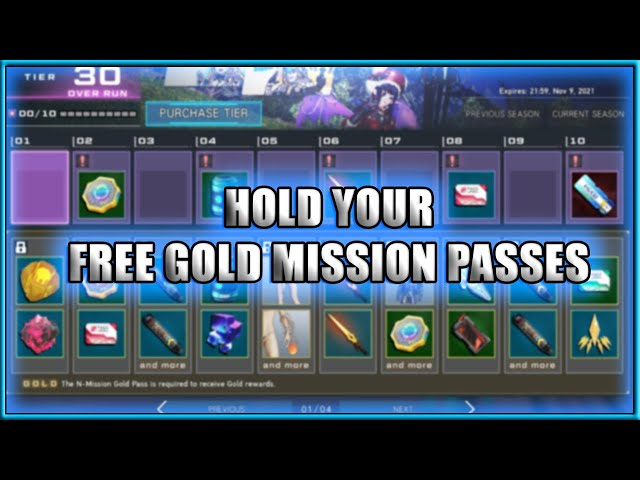HOLD Your Free Mission Pass Gold Tickets! | PSO2:NGS