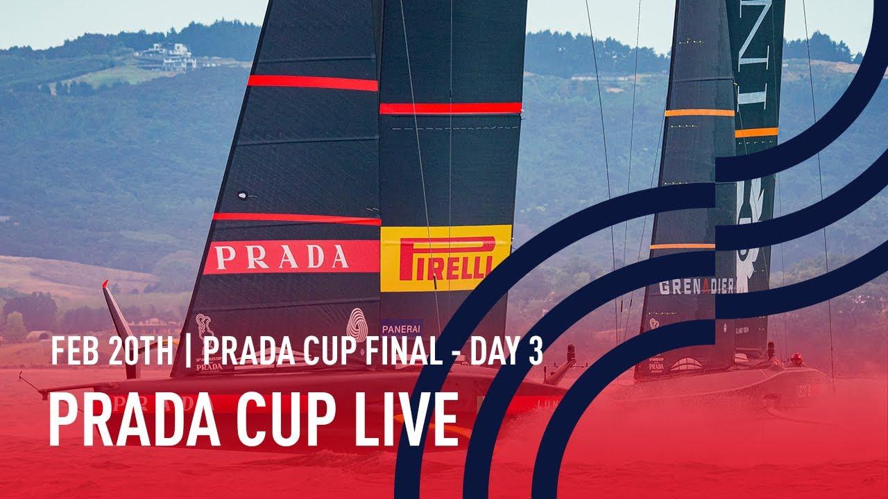 Full Race Replay Day 3 | PRADA Cup FINAL | Luna Rossa Prada Pirelli vs INEOS TEAM UK