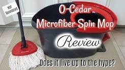 O-CEDAR EASYWRING MICROFIBER SPIN MOP REVIEW