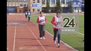 В Нижнекамске отметили 40-летие клуба любителей бега «Пчёлка»