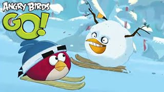 Angry Birds Go! STUNT TRACK 3 Race Time Boom Fruit Splat 2 Walkthrough [IOS]