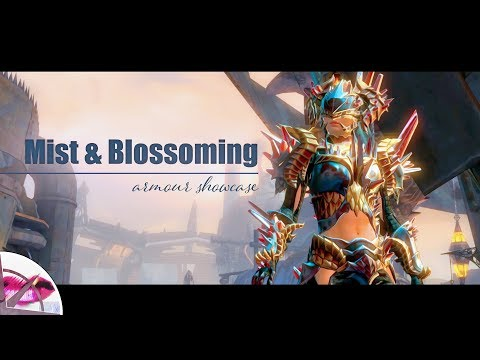 Guild Wars 2 |  Mist Shard And Blossoming Mist Shard Armour Showcase