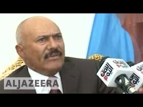Former Yemeni president calls for ceasefire