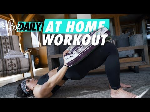 Quarantine At Home Workout | FULL BREAKDOWN | #DLBDAILY