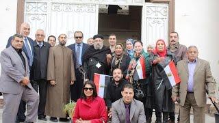 أخبار اليوم | قافلة للتبرع لصندوق تحيا مصر في حى المقطم