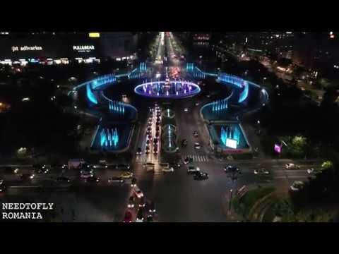 Above Bucharest filmed