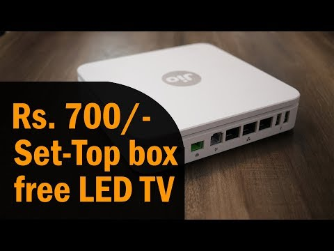Reliance Jio GigaFiber (JIOFIBER) Plan From Rs. 700, Free TV,  Jio Set-Top Box, Premium Jio Fiber