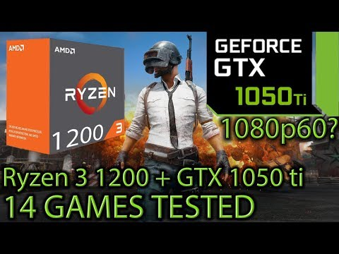 Ryzen 3 1200 paired with a GTX 1050 ti - Enough for 60 FPS at 1080p? - 14 Games Tested