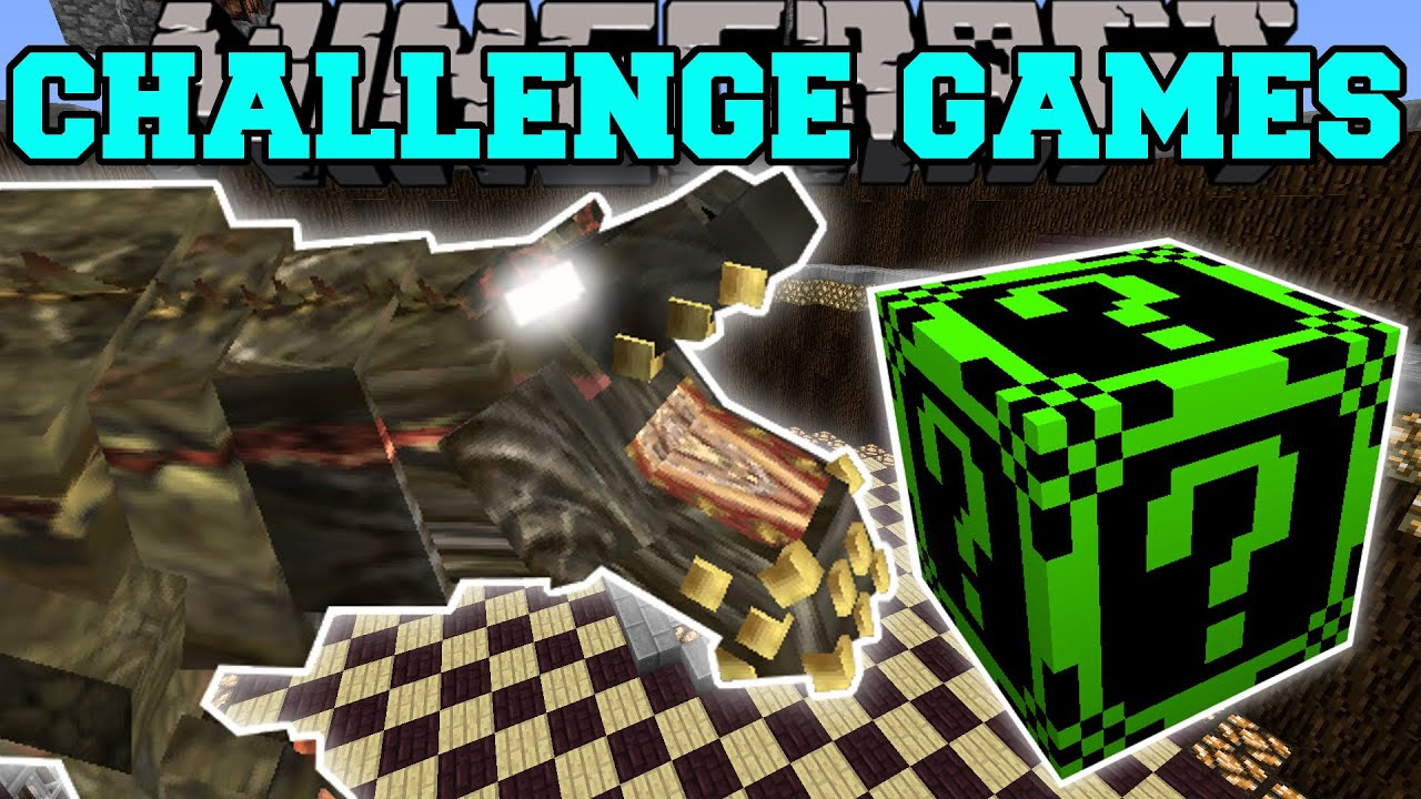 Minecraft DEVILJHO CHALLENGE GAMES Lucky Block Mod Modded Mini Game YouTube