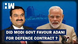 Modi Govt Favoured Adani In Defence Project Ignoring Recommendation: Congress | HW News English