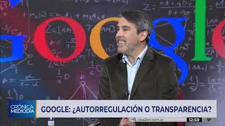 GOOGLE: ¿Autorregulación o transparencia?