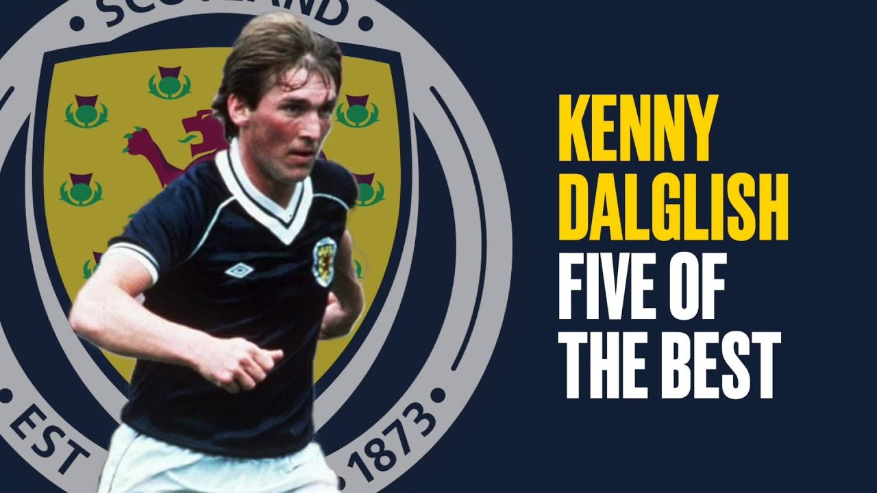 Kenny Dalglish | Five of the Best Goals For Scotland