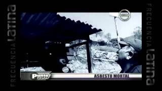 Asbesto mortal, compuesto causa cáncer-punto final
