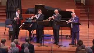Reicha Sinfonico for 4 Flutes, Mvt. 4  - Galway, Langevin, Bouriakov, Höskuldsson