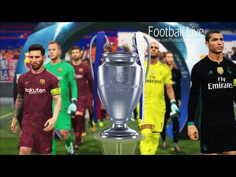 PES 2018 | UEFA Champions League Final | Real Madrid vs FC Barcelona | Gameplay PC