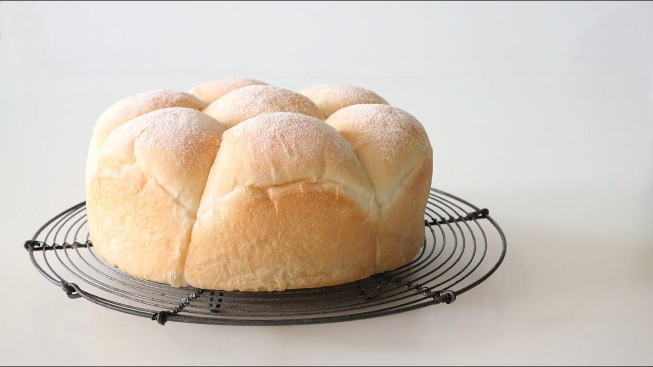 Sub)노에그)쫄깃하고 퐁신퐁신한 밀크 브레드 : 우유빵 만들기 : Milk bread│Brechel