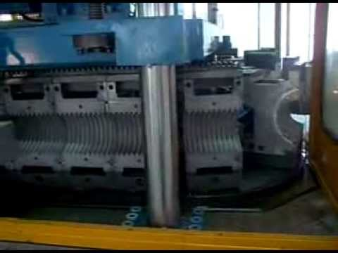 Perforated Land Drain corrugator, Perforated corrugated pipe machine