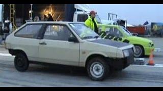 Lada Samara [Street Samar] Vs. Opel Corsa Drag Race 1/4 Mile