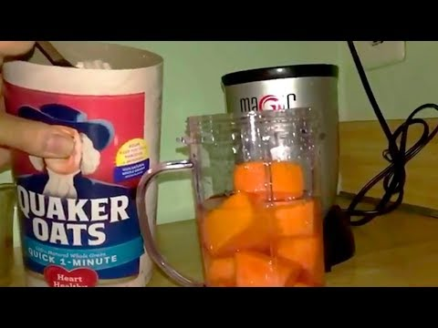 Papaya Oatmeal Smoothie To Clean The Colon, Lose Weight And Reduce Inflammation!