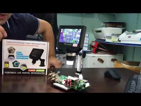 Dijital mikroskop büyüteç kamera youtube
