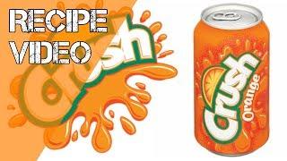 DIY E-Liquid Orange Crush Soda Recipe Using Flavour Art Flavors