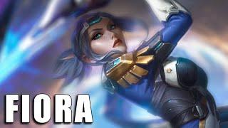 Fiora Pulsefire - League of Legends (Completo)