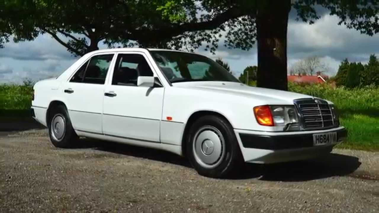 Broad oak classics mercedes e230 w124 for sale youtube for Mercedes benz w124 for sale
