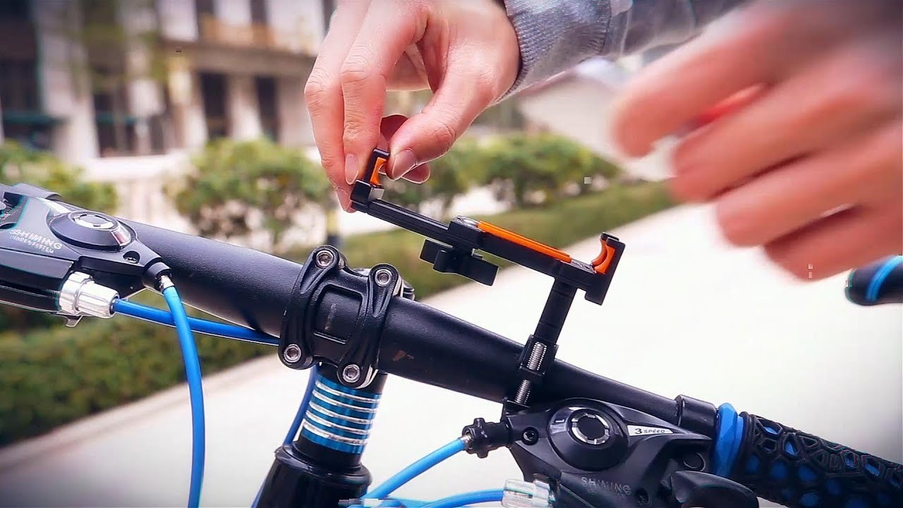 LEADBIKE LD32 Professional Bicycle Mobile Phone Holder - GearBest