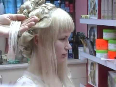 Свадебная прическа с прямой челкой SVADBA-BS.ru