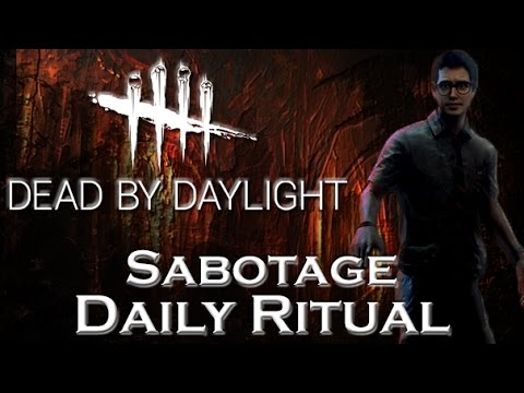 Sabotage Daily Ritual - Dead by Daylight - Survivor #42 Dwight