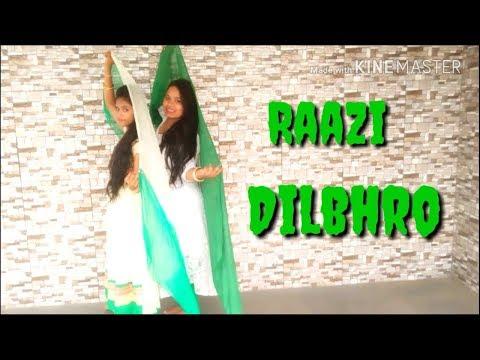 DILBARO dance- Raazi | Harshdeep Kaur, Vibha Saraf, Shankar Maha Devan.. Father's day special dance