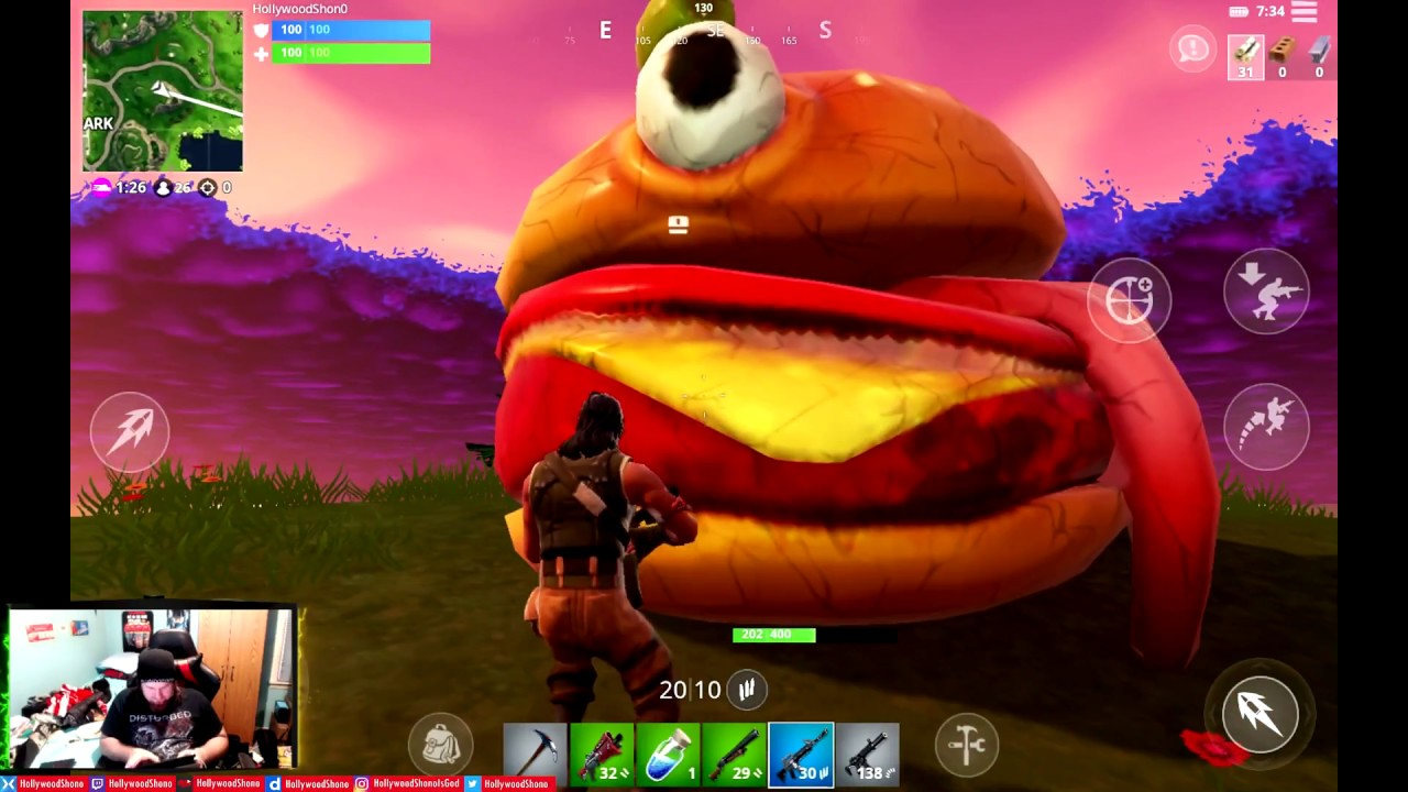 fortnite and pubg mobile on the samsung galaxy tab s4 hollywoodshono - is fortnite on samsung tablet