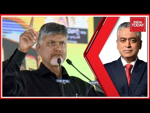 Chandrababu Naidu Exclusive On TDP Dharna In Delhi | Countdown With Rajdeep