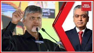 Chandrababu Naidu Exclusive On TDP Dharna In Delhi | Countdown With Rajdeep