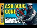 Ash is losing her ACOG - Rainbow Six Siege Designers Notes