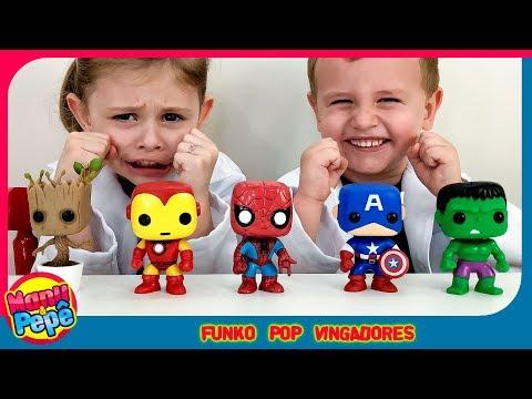 Funko POP Vingadores   Avengers [Manu e Pepe]