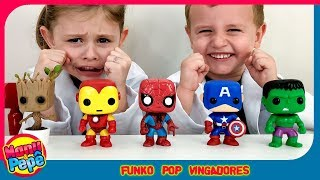 Funko POP Vingadores | Avengers | Pretend Play with Toys
