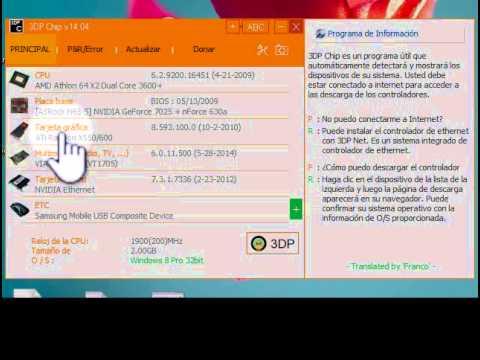 Actualice controladores espec ficos en el Administrador de dispositivos