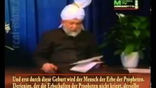 Wurde Mirza Ghulam Ahmed wirklich schwanger und zu Frau? Islam Ahmadiyya - Mirza Tahir Ahmed